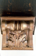 Living Room (Bronzed Corbel)
