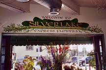 Silverlake Express Flowers Mural (Full View)